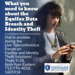 Equifax Data Breach and Identity Theft Solutions
